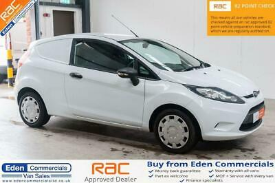 2013 62 Ford Fiesta 1.4 1.4 Tdci 1D 69 Bhp Diesel Car Derived Van White