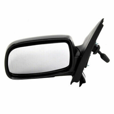Right Driver side Flat Wing mirror glass for Toyota Yaris 1999-05 heated plate