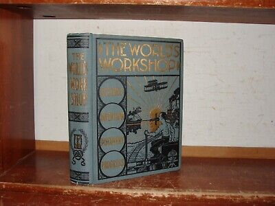 OLD WORLD'S WORKSHOP Book INVENTION MINING FARMING MANUFACTURING TOOLS  MACHINERY