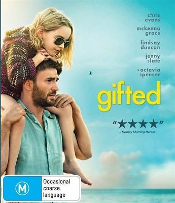 Gifted (DVD, 2017) : NEW