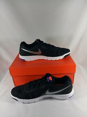 453bc308ab0a9 NIKE FLEX EXPERIENCE 5 GS Running Shoes 844995-010 Size 7 youth ...