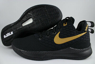 c2c0efdabc0 Nike Lebron Witness Iii 3 Black gold Metallic Basketball Ao4433-003 Us Men  Sizes