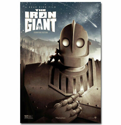 Movie Silk Canvas Poster 13x18 24x32 inch THE IRON GIANT