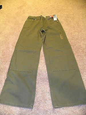 Gap Boys Green Super Loose Adjustable Waist Jeans Size 12 NWT