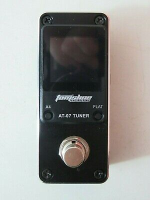 Tom'sline Engineering Pedal Tuner AT07 Chromatic for Guitar (6-7 strings) and Ba