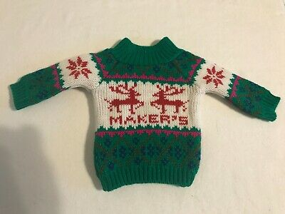 Makers Mark UGLY CHRISTMAS SWEATER 750 ml. BOTTLE COVER  - NEW