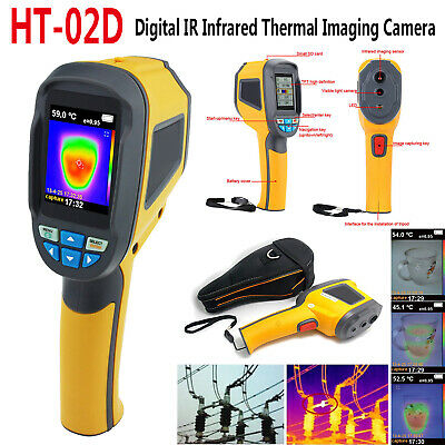 "2019 HT-02D 2.4"" Digital Handheld IR Infrared Thermal Imaging Camera Thermo"