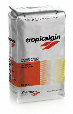 Dental Best Alginate Tropicalgin Tropical Flavour Impression Material  1LB Bag