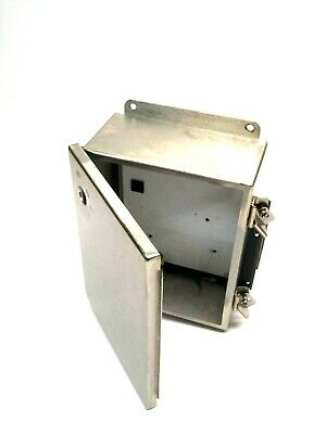 Hoffman A1008CHNFSS Stainless Enclosure 4in 10in 8in