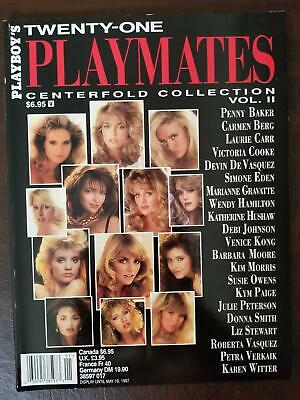 Playboy magazine special edition 21 Playmates Centerfold Collection #2 1997 NM