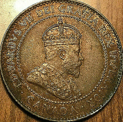 1904 CANADA LARGE CENT LARGE 1 CENT PENNY - Fantastic example!