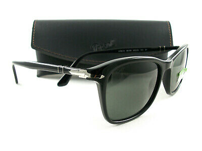 a20fecca4dd37 PERSOL SUNGLASSES PO3192S Black Green Polarized 95 58 Authentic New ...