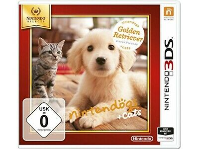 Nintendogs + cats Golden Retriever (Nintendo Selects) [3DS] - SEHR GUT