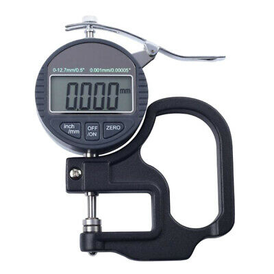 0-10mm/0-25mm Precision Digital Thickness Gauge Measure for Glass, Paper