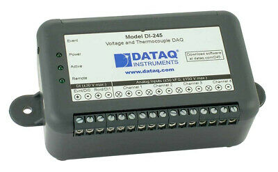 Model DI-245 Four-channel USB Voltage and Thermocouple DAQ