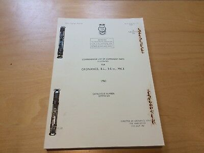 ILLUSTRATED PARTS MANUAL/CATALOGUE for the 4.5 and 5.5 in Breech Loading Gun