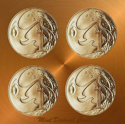 2019 MR SQUIGGLE ... 4 x 1 CENT COINS ... from Folder ... Registered Post ... #1