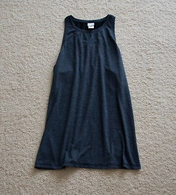 2cc0a138770aa2 C9 Champion Women s Tank Top Duo Dry Mesh Back Gray Black Size Medium M