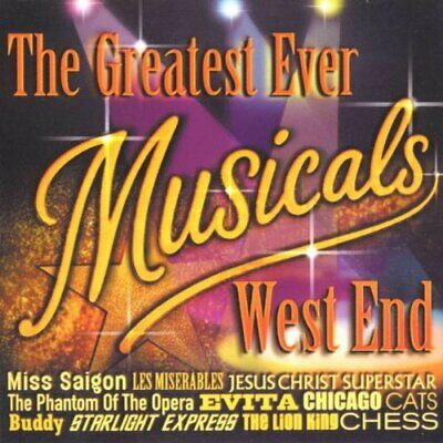 Various Artists - Greatest Ever Musicals Album - We... - Various Artists CD MNVG
