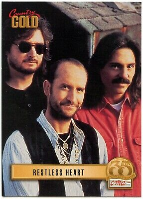Restless Heart #43 Country Gold 2 Sterling 1993 Music Trade Card (C2592)