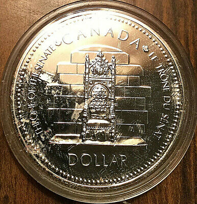 1977 CANADA SILVER DOLLAR - Prooflike - With Capsule