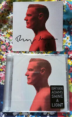 BRYAN ADAMS Shine A Light CD Album SEALED with additiional HAND SIGNED BOOKLET
