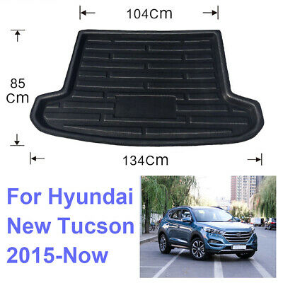 For Hyundai Tucson 2015-Now 19 18 Rear Trunk Tray Cargo Boot Mat Floor Protector