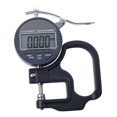 0-25mm, Φ30mm Precision Digital Thickness Gauge Measure for Glass, Paper