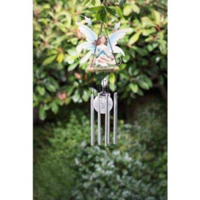 Magical Fairy Solar Wind Chimes Led Light Powered Colour Changing Garden Outdoor