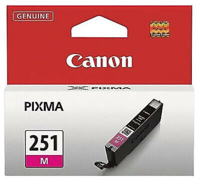 Genuine Canon CLI-251 Magenta Inkjet Cartridge PIXMA iP7220 MG5420 MX722