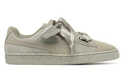 PUMA SNEAKERS SUEDE Heart Pebble Wn's Grigio 365210 02 EUR
