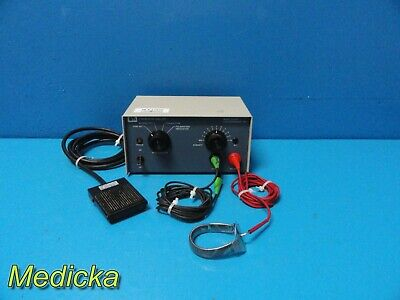 Cameron Mitler 26-0345 Electrosurgical Unit W/ Foot-pedal & Leads ~ 17542