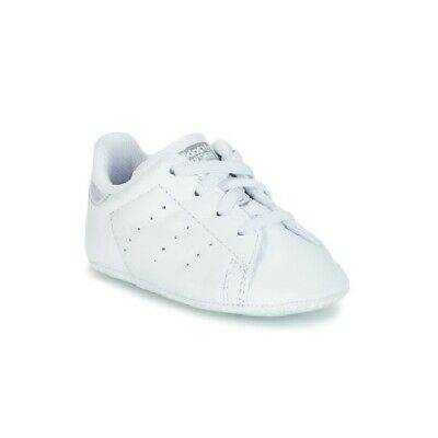 buy popular 8c788 576d6 scarpe neonato neonata ADIDAS ORIGINALS STAN SMITH CRIB Bianco baby sneakers