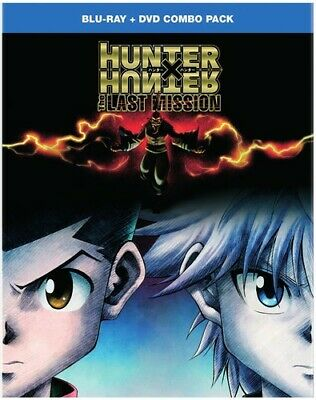 Hunter x Hunter:The Last Mission [New Blu-ray] With DVD, 2 Pack