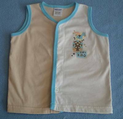 Baby Kiko Cute Little Boys Vest, Size 12-18 Months