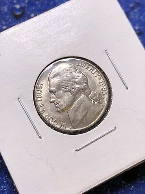 1983-D Uncirculated US 5c ~ Semi Key Date ~ AWESOME COIN **FULL STEPS!!*P15