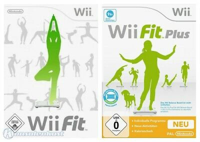 Nintendo Wii Spiel - Wii Fit Bundle: Wii Fit + Wii Fit Plus mit OVP