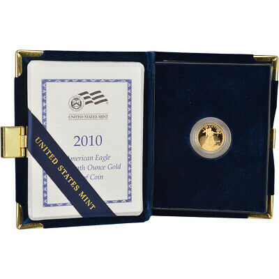 2010-W American Gold Eagle Proof (1/10 oz) $5 in OGP