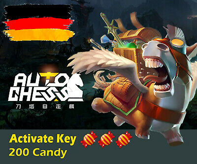 😎Official CDK🔑😎 Dota 2 Auto Chess AutoChess 200 Candy[DE]let's play😈