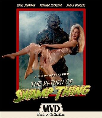 THE RETURN OF SWAMP THING New Sealed Blu-ray + DVD MVD Rewind Collection