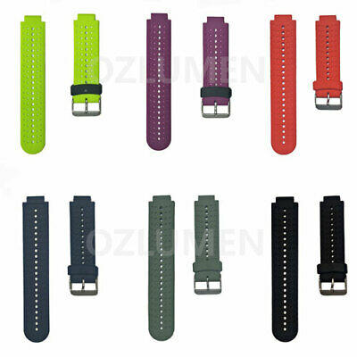 Replacement Silicone Watch Band Strap for GARMIN FORERUNNER  220 230 235 735EXT