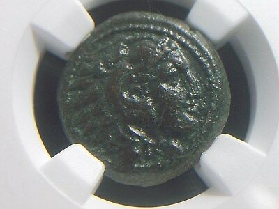 Authentic Greek coin of Alexander III The Great 336-323 BC, Lifetime  NGC XF