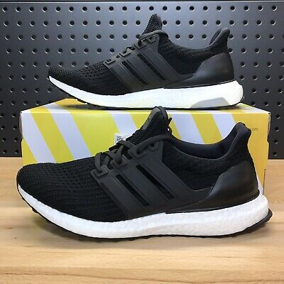 d7f5cce6ca3 Adidas UltraBoost Ultra Boost 4.0 Black White Shoes BB6166 Men s Size 8.5