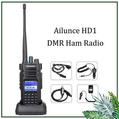 Ailunce GPS HD1 walkie talkie UHF/VHF Dual Band DMR Digital Radio DCDM TDMA AU
