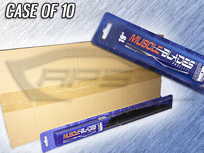 "Muscle Blades 19"" Traditional Windshield Wiper Blade - Mdb-19 - Case Of 10"