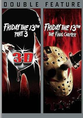 Friday the 13th Part 3 and The Final Chapter (DVD, 2 Disc, 2013) New and Sealed