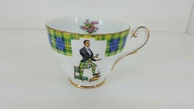 Royal Standard BONNIE SCOTLAND fine porcelain Tea Cup CLAN CAMPBELL (no saucer)