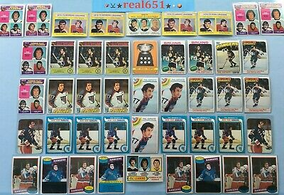 1971~1980 O-Pee-Chee Topps PHIL ESPOSITO Lot x 54 Vintage HOF | Bruins Rangers