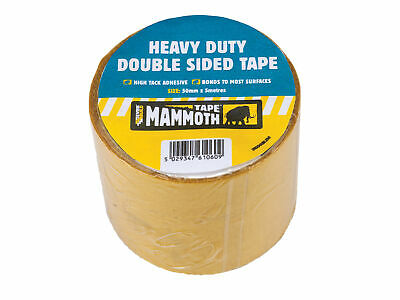 Everbuild Heavy-Duty Double Sided Tape 50mm x 5m EVB2HDDST50