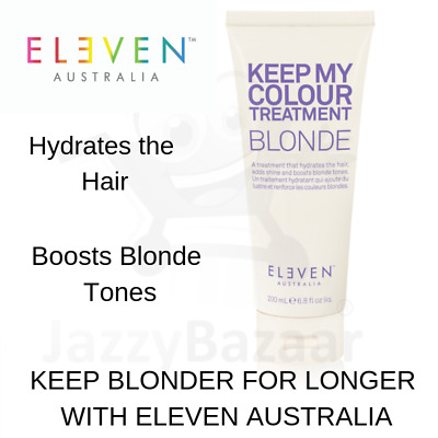 ELEVEN Keep My Colour Treatment Blonde 200ml Conditioner Hair Care